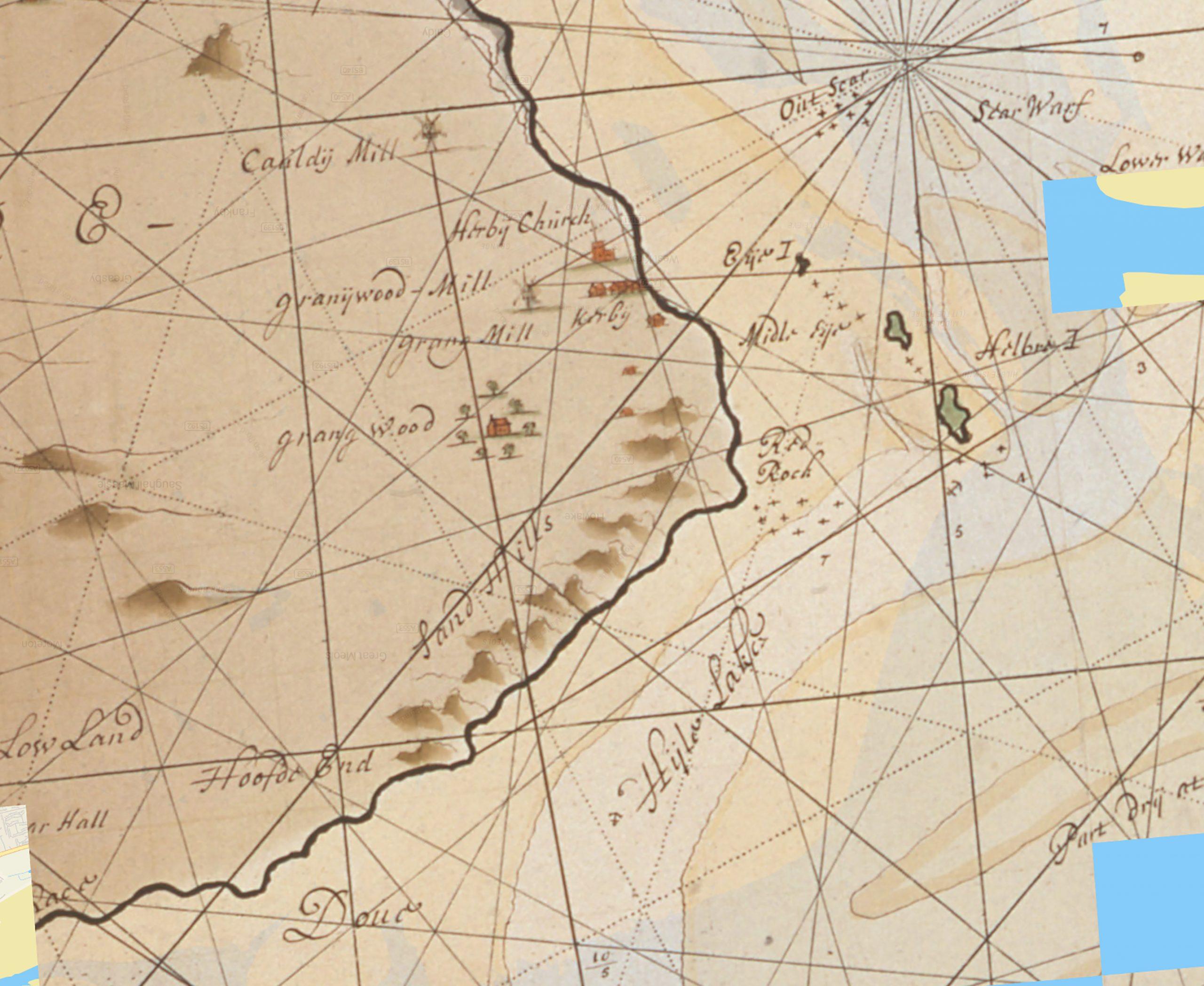 van Keulen map 1715