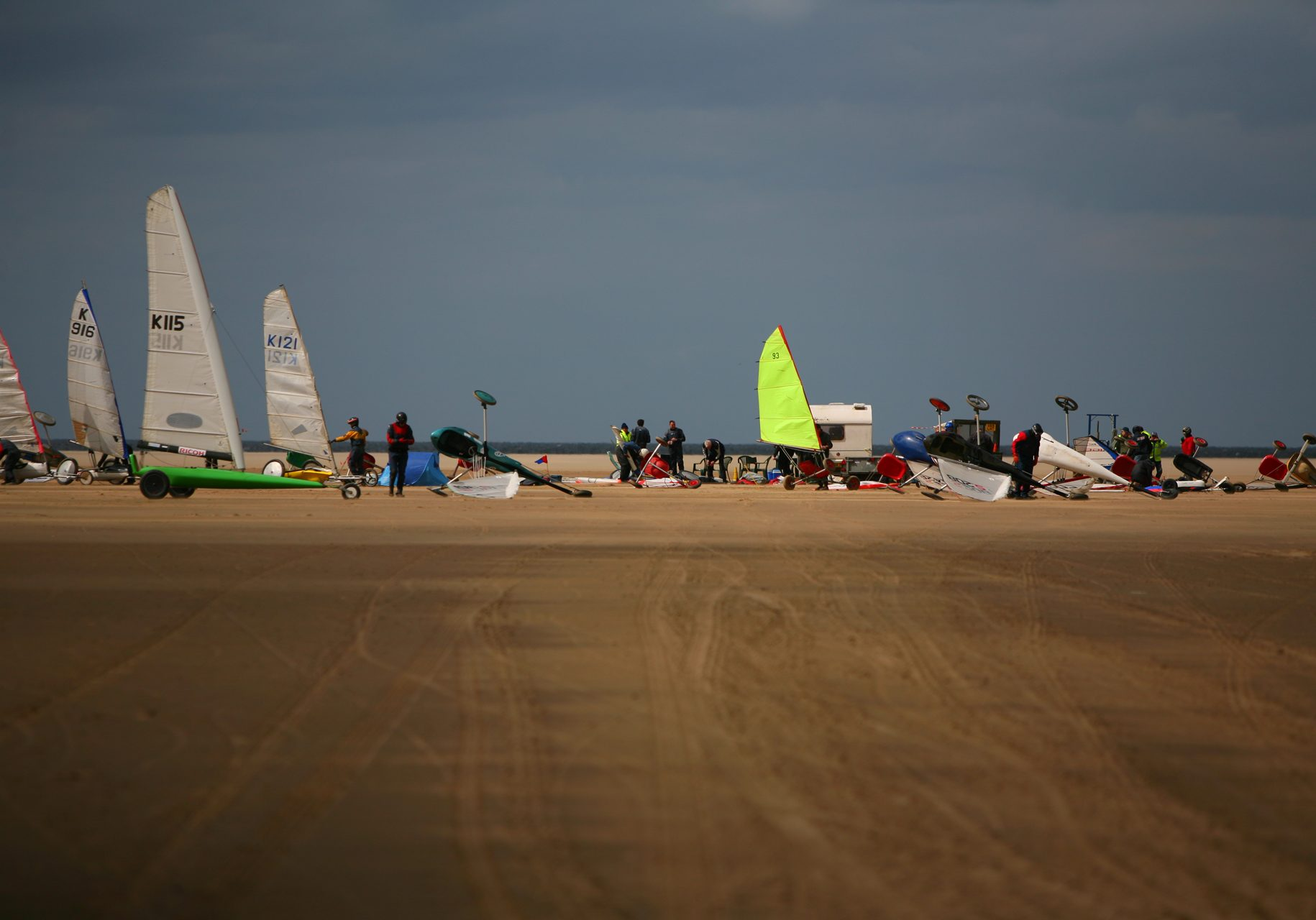 World class sporting events include International Sandyachting Championships © HVL